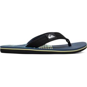Quiksilver Molokai Layback Sandals Men black/blue/green